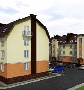 Квартира, 1 комната, 31.9 м²