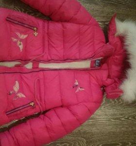Куртка зимняя новая рост 122, 4-5 лет