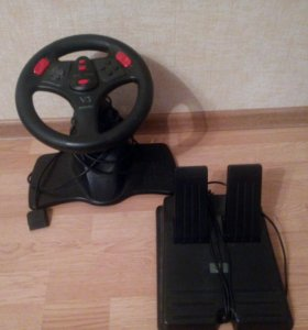Руль на Sony Playstation1
