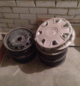 Колпаки оригинальные Форд R15