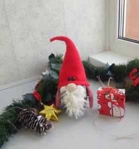 Новогодний декор (игрушка Деда Мороза)