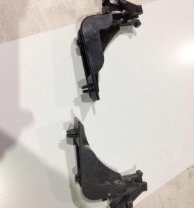 Крепления переднего бампера Toyota vitz