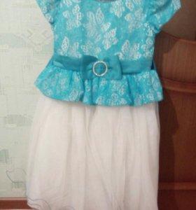 Праздничное платье (новое)