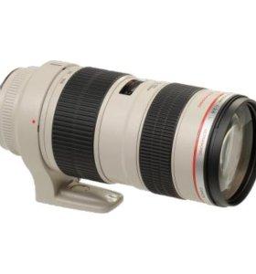 1 Объектив Canon EF 70-200 F2.8L USM