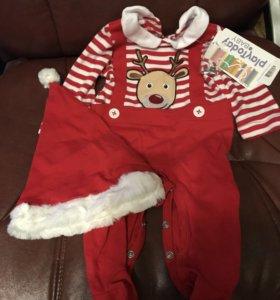 Новогодний костюм, детский, размер 62