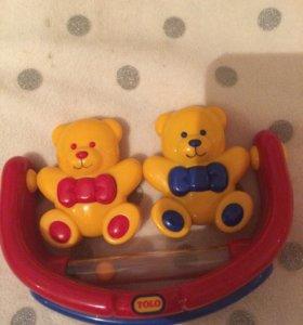 Новая игрушка-погремушка-качалка для детей.