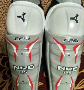 Щитки хоккейные. EFSI NRG 115