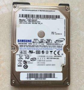 HDD с разъёмом подключения IDE Samsung 160Gb