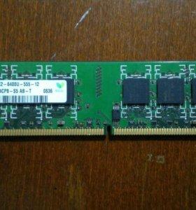 1GB DDR2 Hunix HYMP512U64CP8-S5