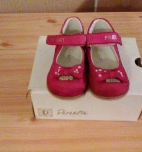 Нарядные туфельки pinetti 19р.+ босоножки babygo