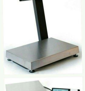 Весы регистраторы с печатью этикеток