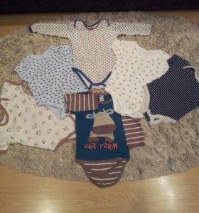 Одежда для малышей от 3до 8 месяцев