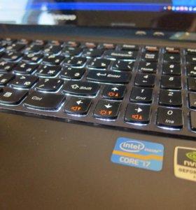 Ноутбук Lenovo Y580 15.6 i7 SSD 240GB HDD 1TB