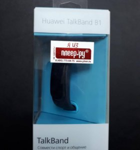 Фитнес- браслет huawei talkband b1black
