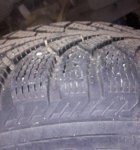 Зимняя резина р15 дисками на волгу