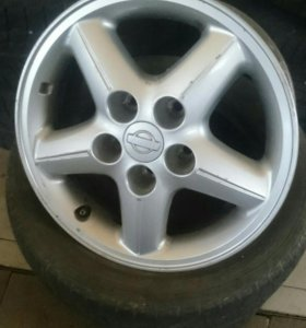 Оригинальные диски Nissan R-15