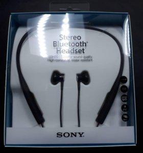 Наушники sony stereo bluetooth headset sbh70 black