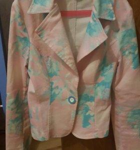 Пиджак летний 42 размер