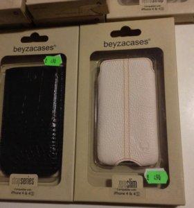 Кожаный чехол на iPhone 4/4s