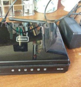 Универсальный роутер d-link с зарядным устройством