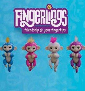 Интерактианые обезьянки fingerlings