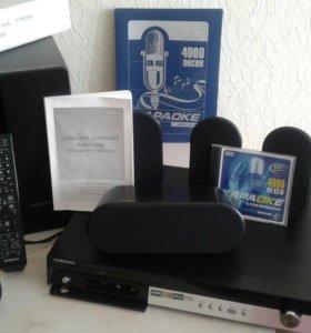 Домашний кинотеатр Samsung HT-Z110 +караоке