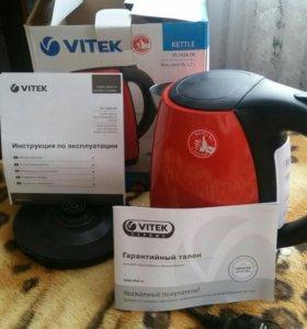 """Электрический чайник """"VITEK"""" новый"""