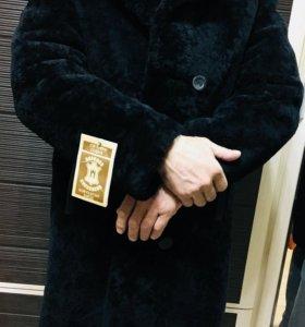 Пальто мужское из мутона, новая!!