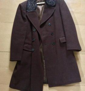 Пальто мужское длинное