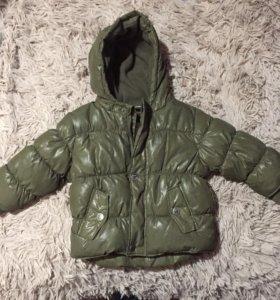 Зимняя куртка на 6 месяцев