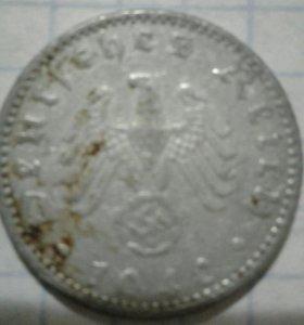 Монета фашистской германии