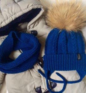 Зимние шапки. Комплекты.