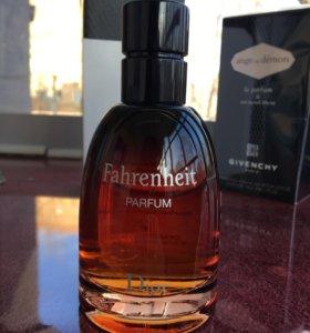 C.Dior FAHRENHEIT men 75ml Parfum test