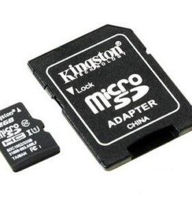 Micro SD карта на 32 Gb