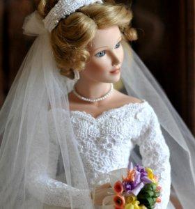 """Фарфоровая кукла """"Весеннее обещание"""""""