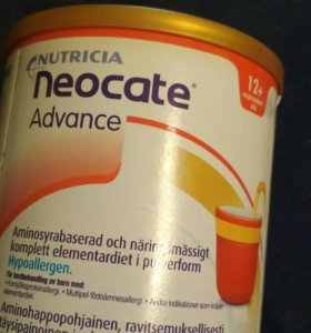 Смесь neocate advance nutricia 12+.