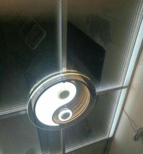Потолок зеркальный (бесконечность)