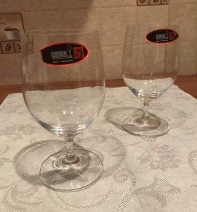 Новые бокалы Riedel для воды, шампанского, вина