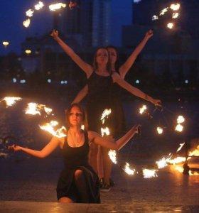 Огненное шоу в Богдановиче «ETHEREAL»