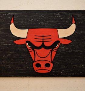 Настенное панно Chicago Bulls