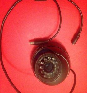 Антивандальная купольная AHDВидеокамера