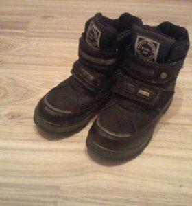 Зимние Ботинки на мальчика.38 размер.