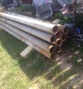 Трубы столбы