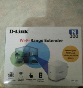Dlink- wifi усилитель,новый на гарантии