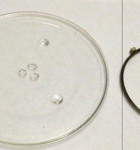 Тарелка и ролик на микроволновую печь panasonic