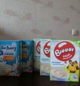 Каши молочные