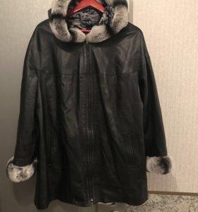 Продают двухстороннюю кожаную куртку