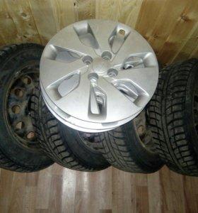 Зимние шины на дисках kumho
