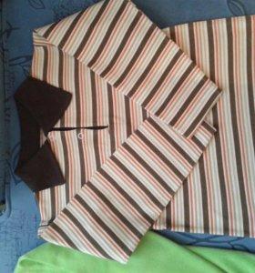 Рубашки на мальчика трикотажные х/б