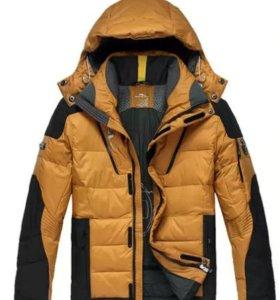 Мужская куртка Ralph Lauren пуховик-новая